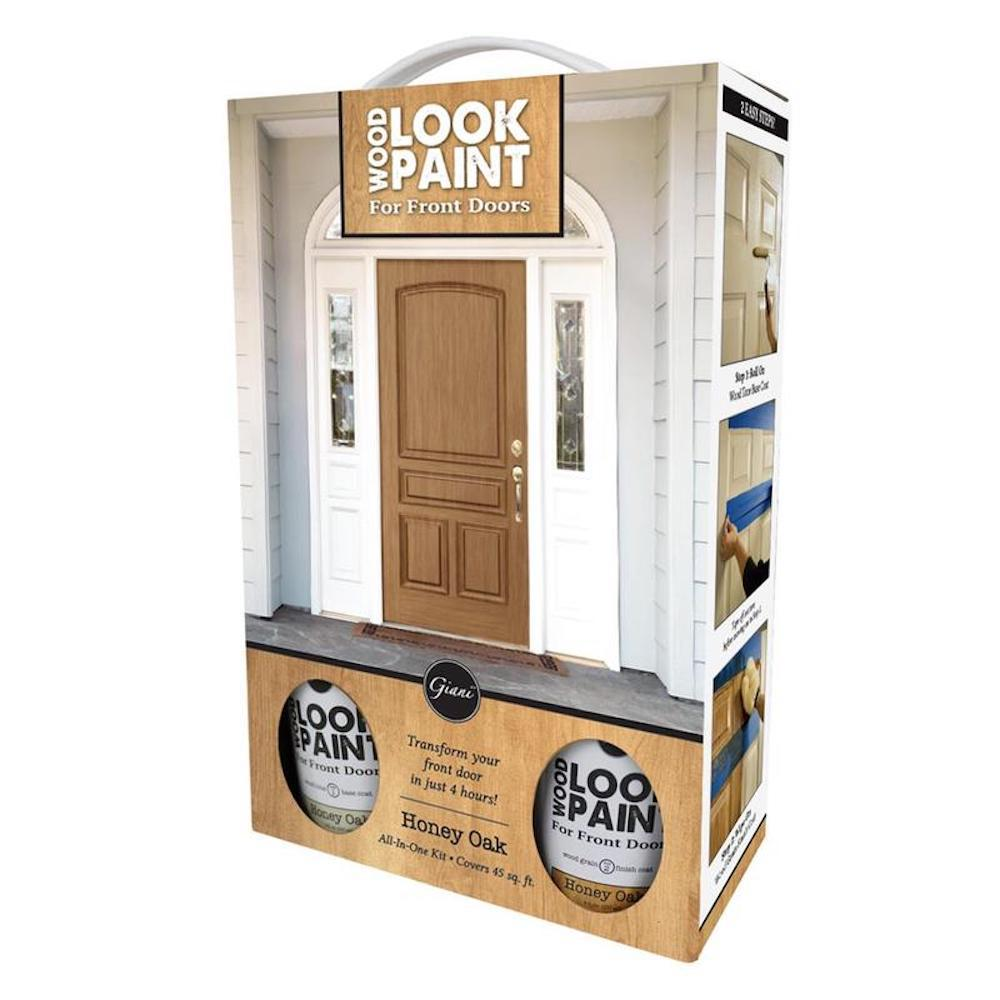 Wood Look Paint 16 Oz Honey Oak Front