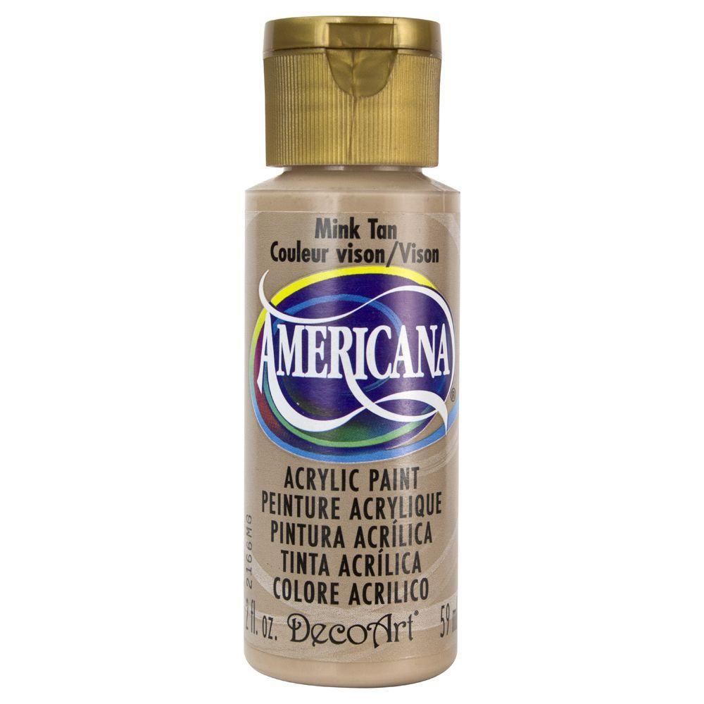Americana 2 oz. Mink Tan Acrylic Paint