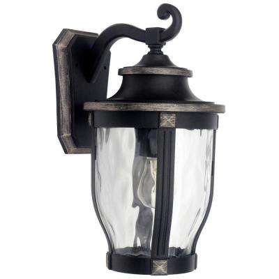 McCarthy 1-Light Bronze Outdoor Wall Mount