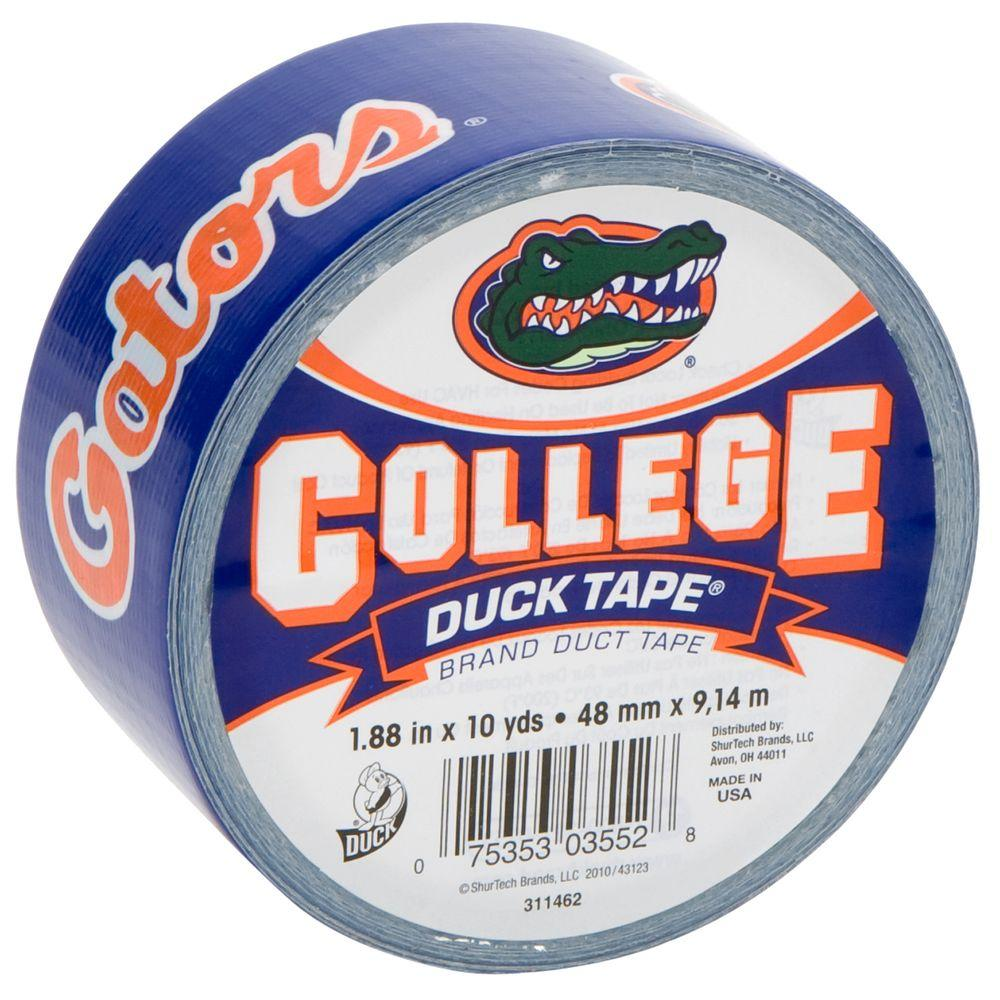 Duck College 1-7/8 in. x 10 yds. University of Florida Duct Tape