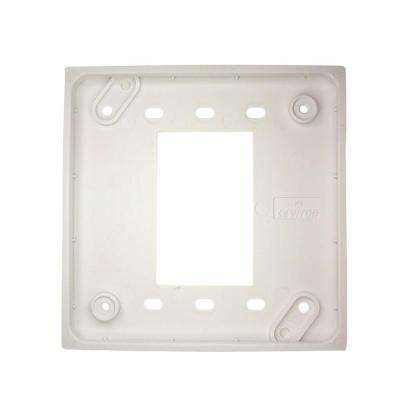 4-in-1 Adapter Plate for Use with Part Nos. 1254 and 21254 Only, White