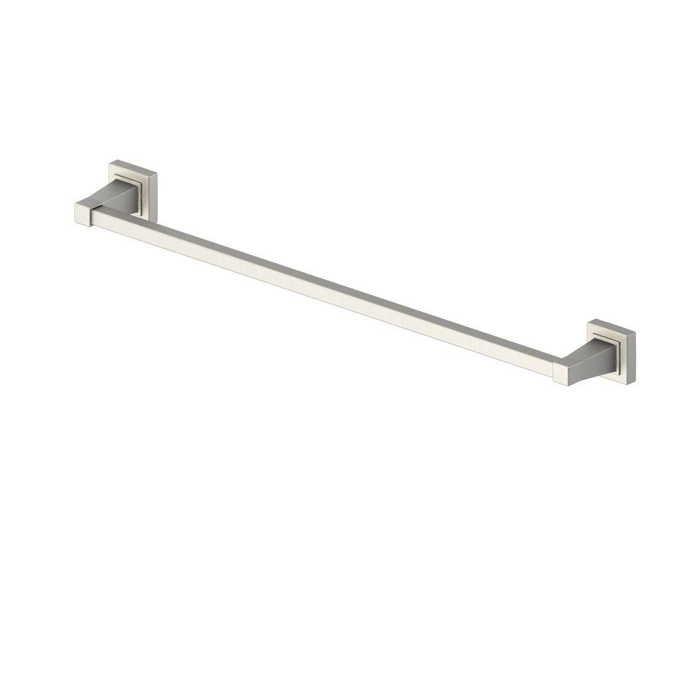 Adelyn 24 in. Towel Bar in Brushed Nickel