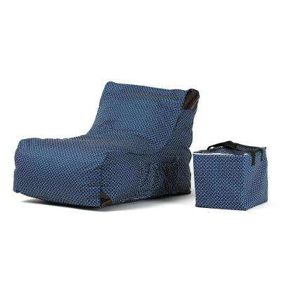 Paola Blue Sling Outdoor Chaise Lounge