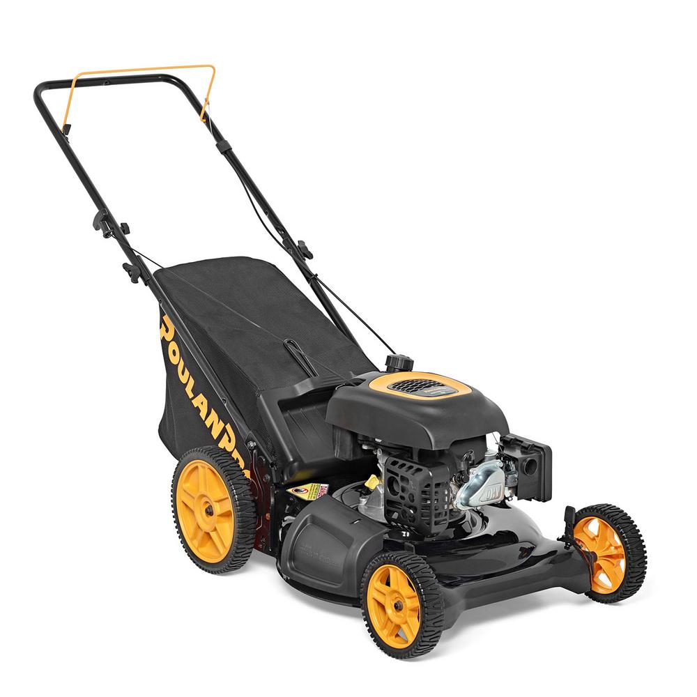 Power 21 in. 174cc Gas 3-in-1 Walk Behind Push Lawn Mower