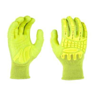 Thunderdome Impact Large Flex Glove in HIVSYL