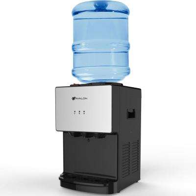 Premium Hot/Cold Top Loading Countertop Water Cooler with Child Safety Lock