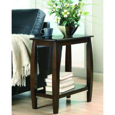 Bennet Cappuccino End Table