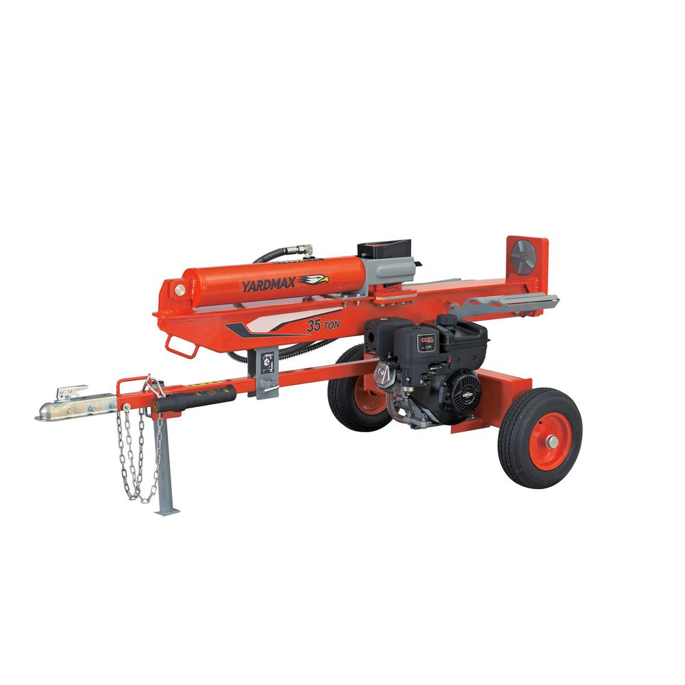 YARDMAX 35-Ton 306cc Gas Log Splitter
