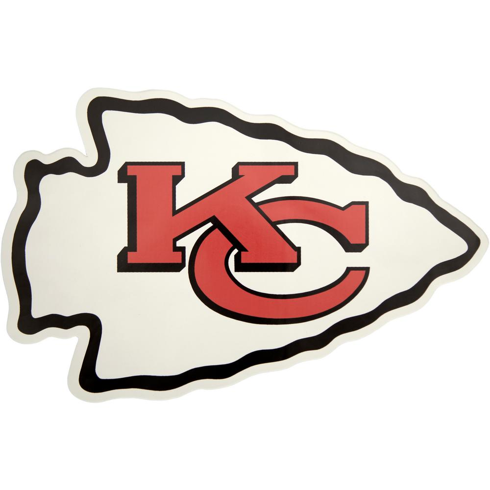 Applied Icon NFL Kansas City Chiefs Outdoor Logo Graphic- Small ... 0ca1b3a23