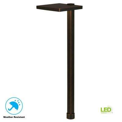 5.6-Watt Oil Rubbed Bronze Outdoor Integrated LED Landscape Path Light