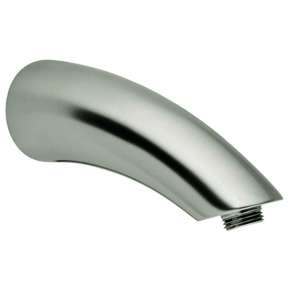 Movario 6 in. Shower Arm in Infinity Brushed Nickel