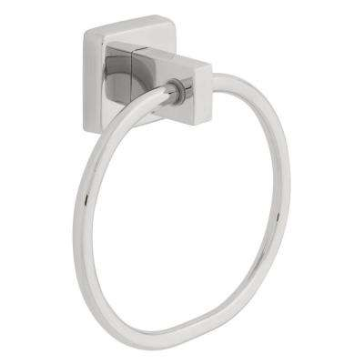 Century Towel Ring in Polished Stainless