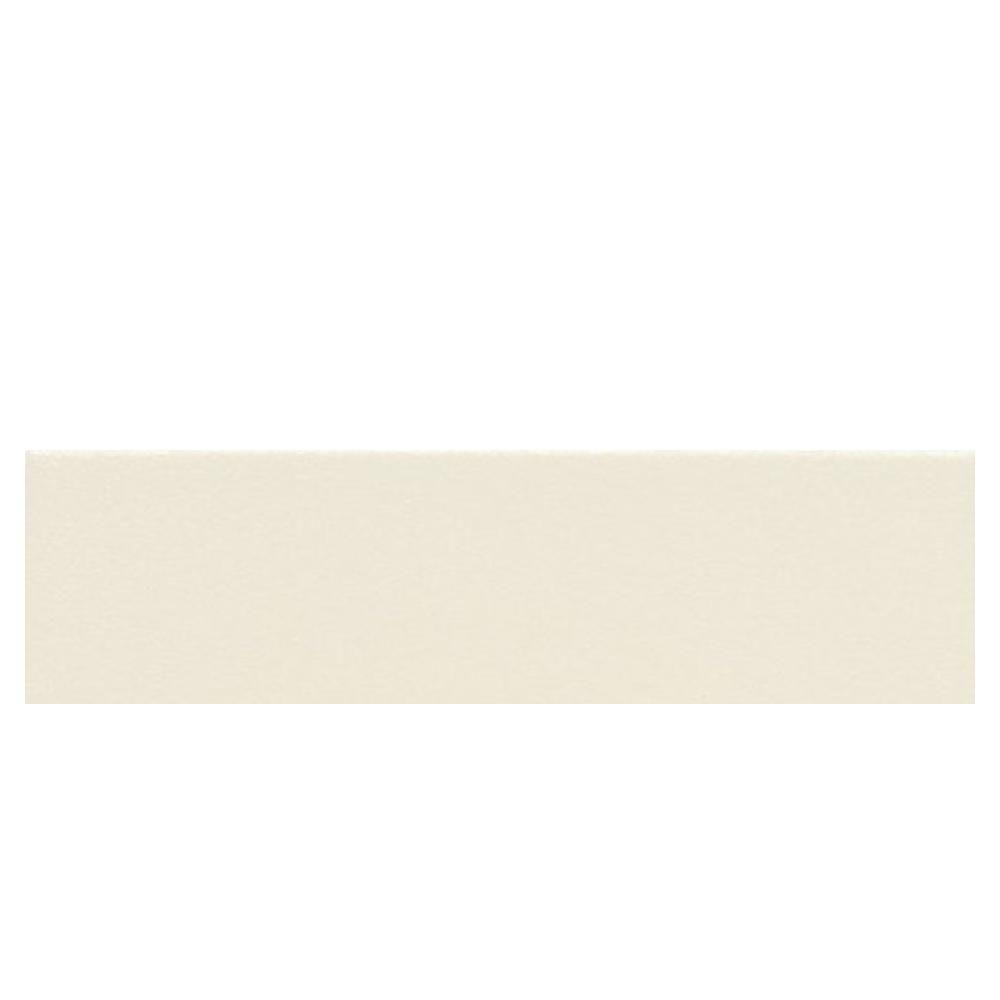 Daltile Colour Scheme Biscuit Solid 3 in. x 12 in. Porcelain Bullnose Floor and Wall Tile