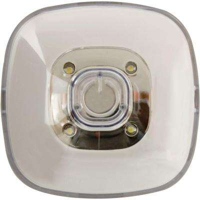 White LED Plastic Square Tap Light