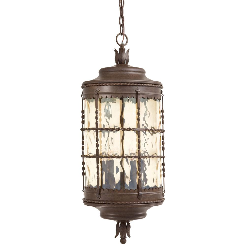 the great outdoors by minka lavery mallorca 5 light vintage rust