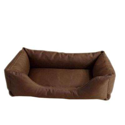 Brutus Tuff Kuddle Medium Chocolate Lounge Bed