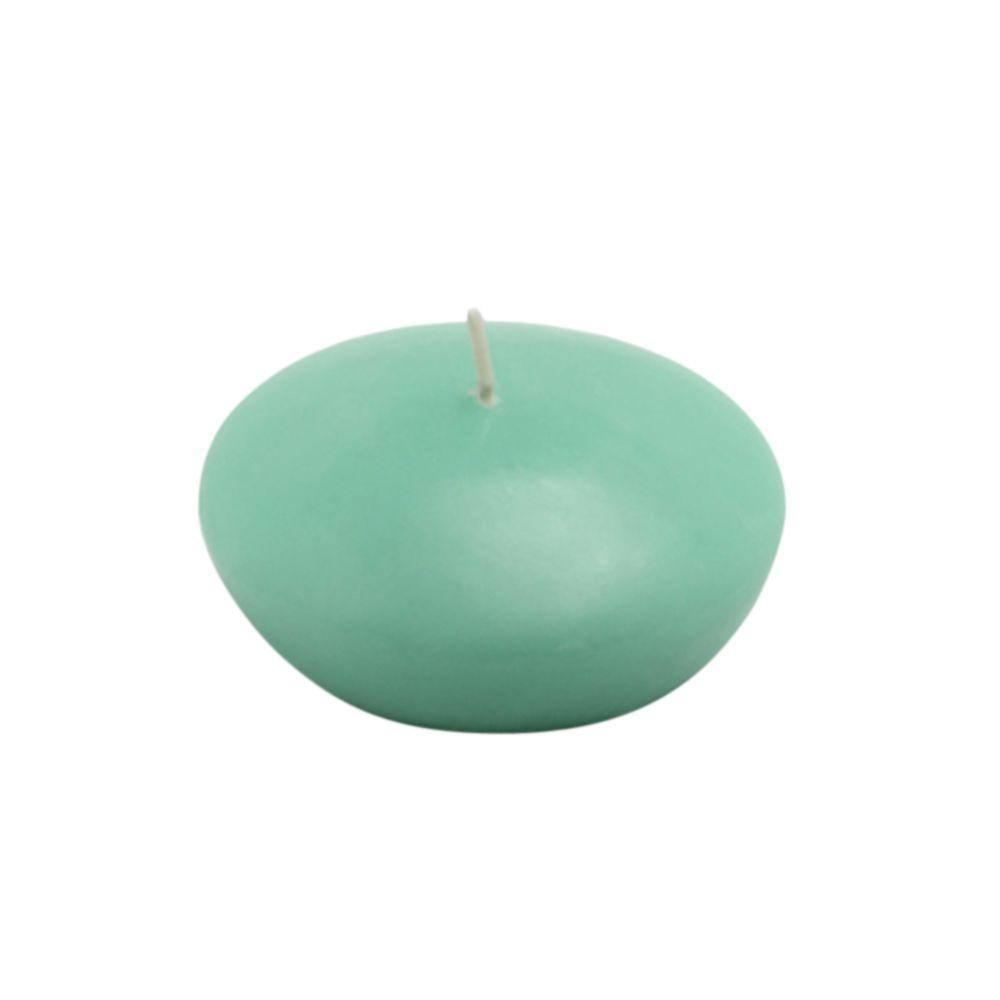 Zest Candle 3 in. Aqua Floating Candles (12-Box)