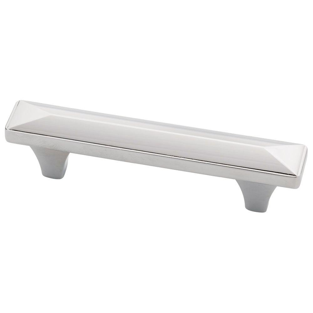 Liberty Barcelona 3 in. (76mm) Polished Chrome Cabinet Pull