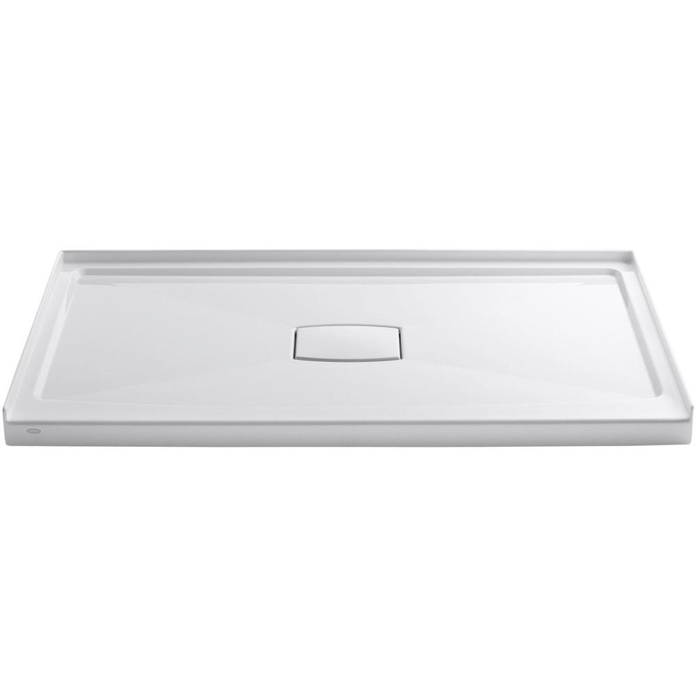 KOHLER Archer 60 In. X 36 In. Single Threshold Shower Base In White