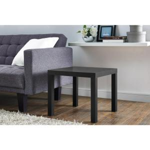 DHP Parsons Black End Table by DHP