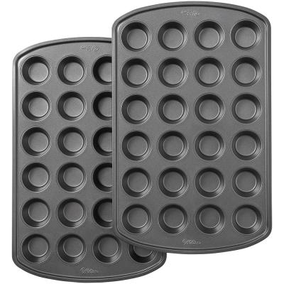 Perfect Results Premium Non-Stick Bakeware 24-Cup Mini Muffin Pan (Set of 2)