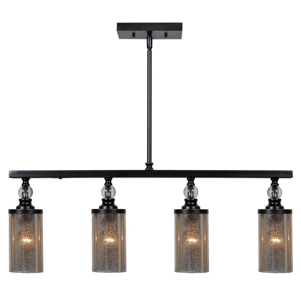 Kenroy Home Chloe 4-Light Bronze Island Pendant