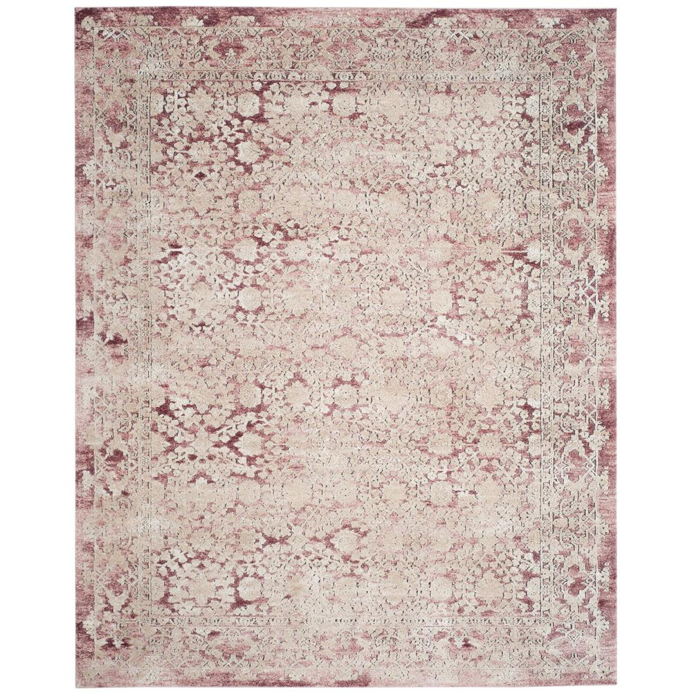 Safavieh Palermo Rose Beige Area Rug Plm The Home Depot
