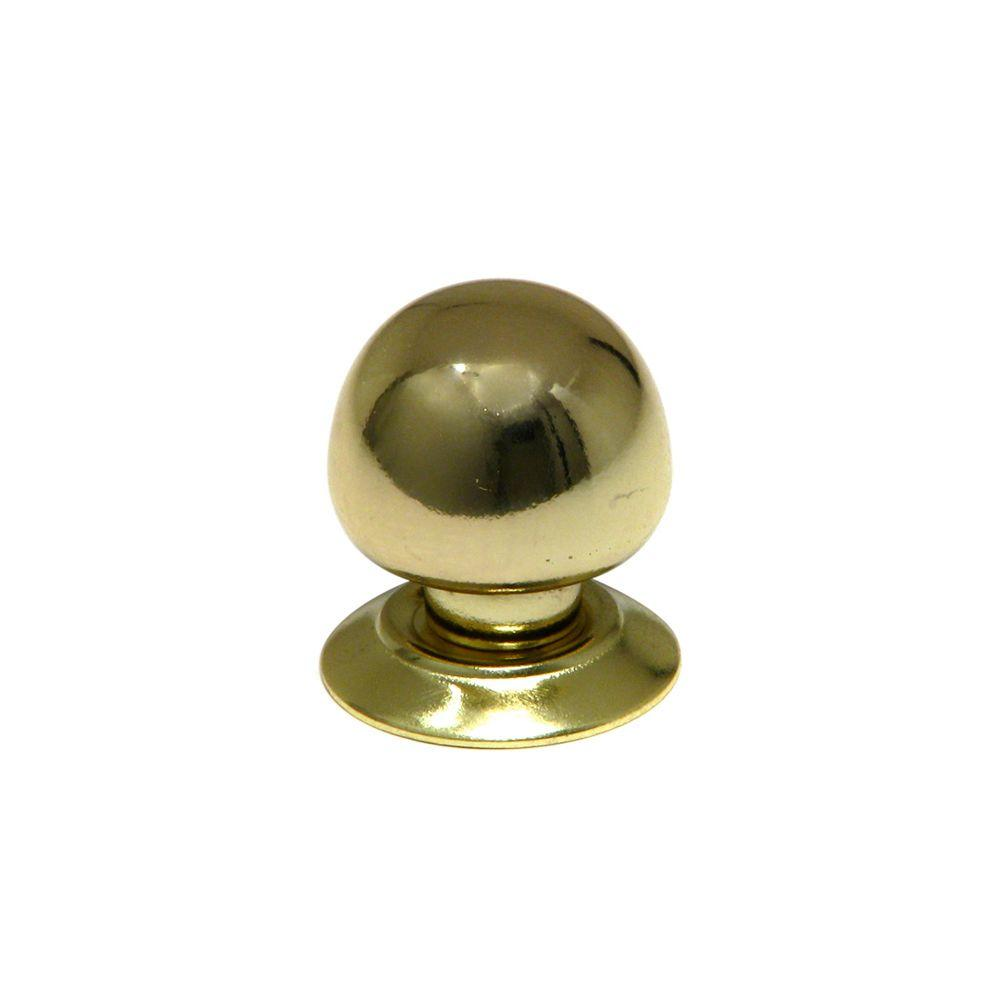 Richelieu Hardware Contemporary and Modern 1-1/4 in. Brass Cabinet Knob