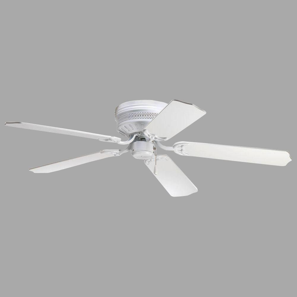 Progress Lighting Airpro Hugger 52 In Indoor White Ceiling Fan