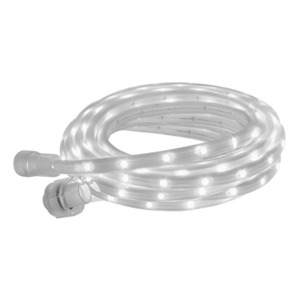 BAZZ 15 ft. White Linkable Rope Lighting-DISCONTINUED