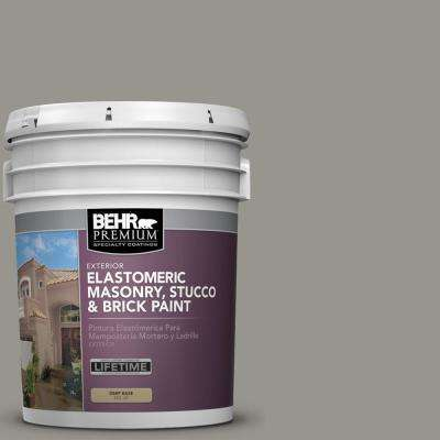 N360 4 Battleship Gray Elastomeric Masonry Stucco And Brick Exterior