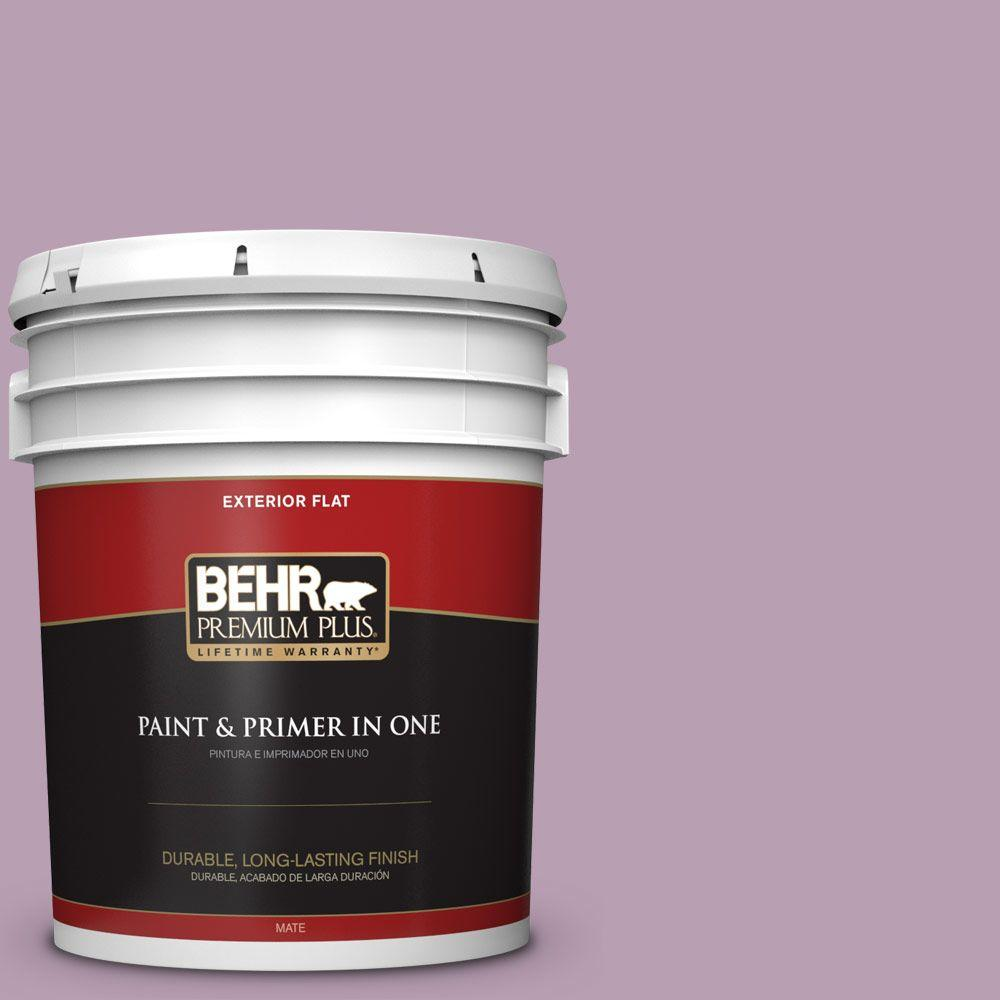 5-gal. #S110-4 Highland Thistle Flat Exterior Paint