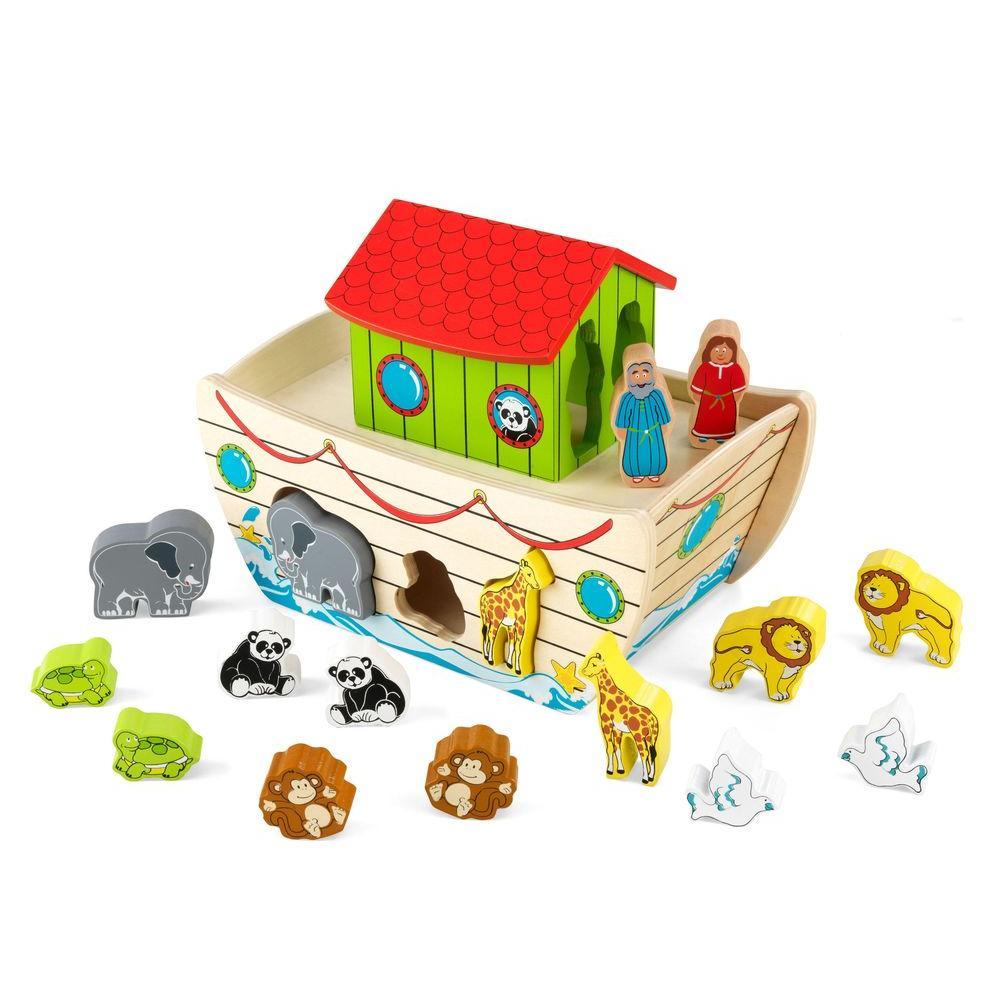 Noah's Ark Shape Sorter Play Set