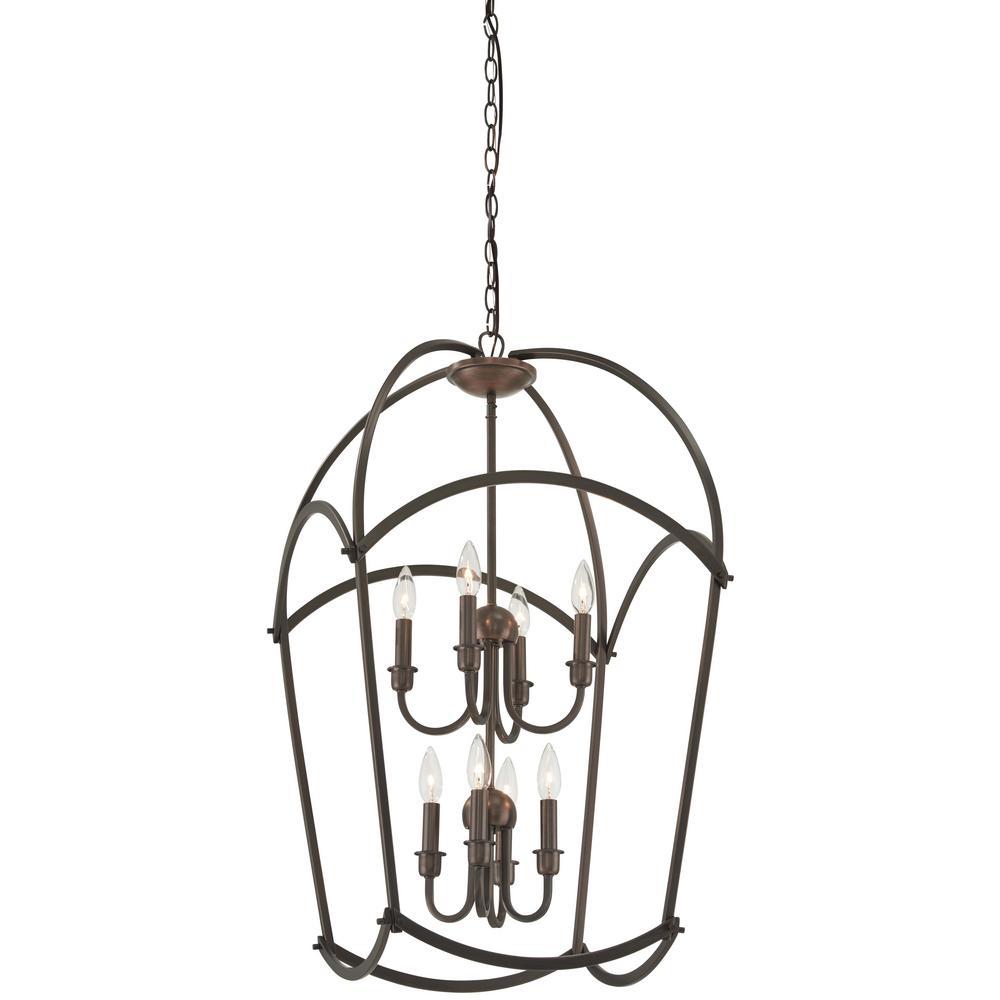 Minka lavery jupiters canopy 8 light harvard court bronze pendant