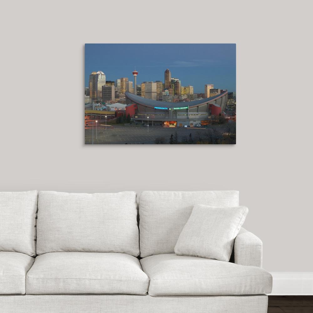 Greatbigcanvas Quot Canada Alberta Calgary City Skyline