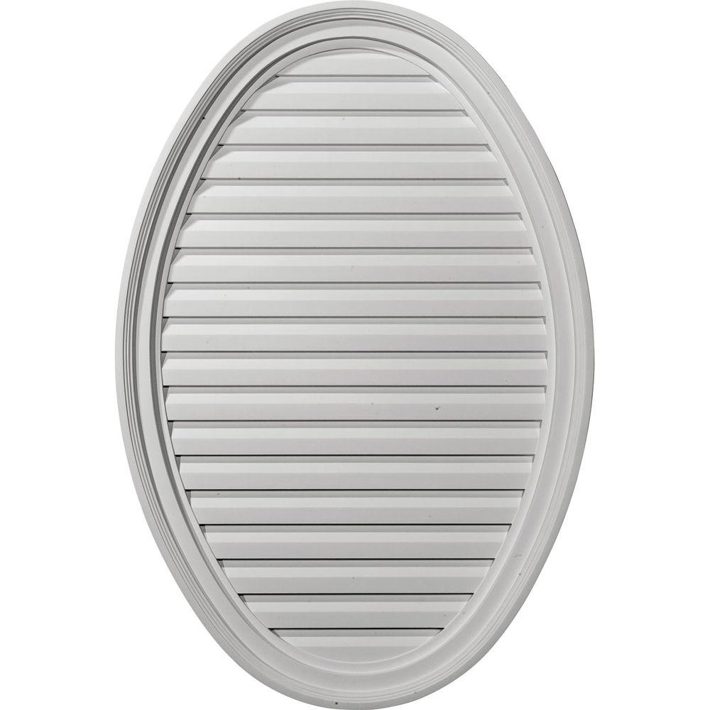 2-1/8 in. x 25 in. x 37 in. Functional Vertical Oval