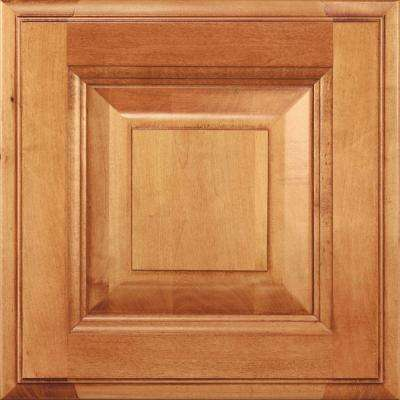 14.5x14.5 in. Cabinet Door Sample in Madison Maple Natural Bronze