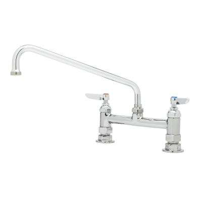 Deck Mixing Faucet Swing Nozzle