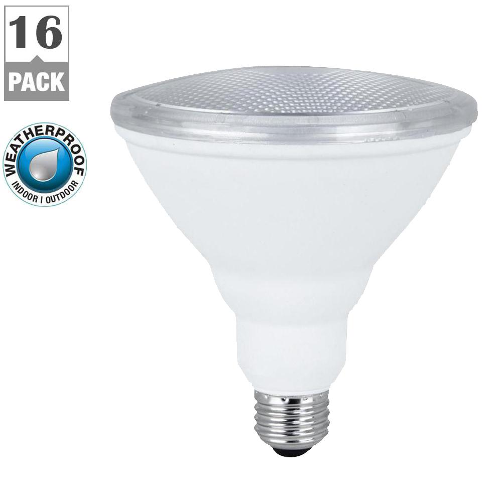 Feit Electric 75W Equivalent Warm White PAR38 Spot LED Light Bulb Maintenance Pack (16-Pack)