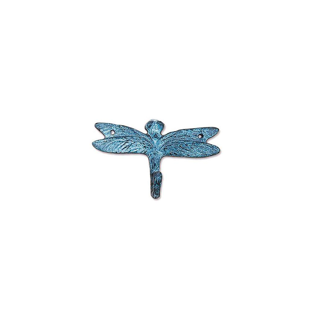 Blue Dragonfly Single Wall Hook