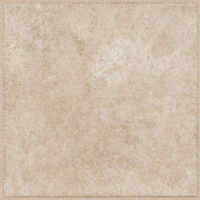 Overlook II Sandstone 12 in. x 12 in. Residential Peel and Stick Vinyl Tile Flooring (45 sq. ft. / case)