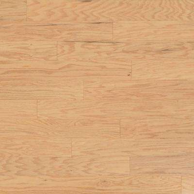 Take Home Sample - Scraped Oak Alabaster Engineered Click Hardwood Flooring - 5 in. x 7 in.