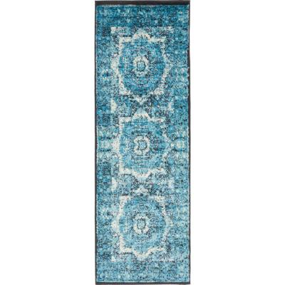 Imperial Lygos Turquoise 2' 0 x 6' 0 Runner Rug