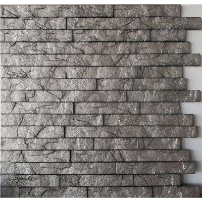 Sparkled Grey Pvc Wall Panel