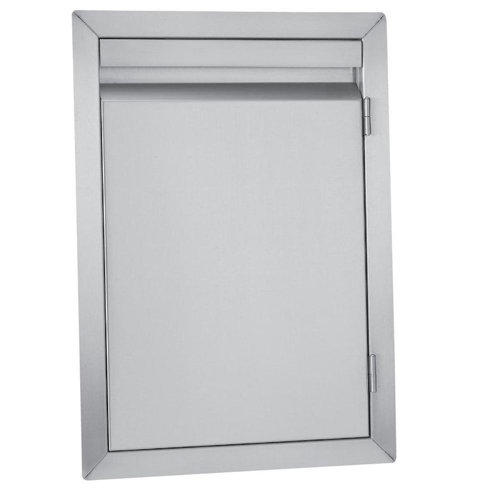 Kitchen Outside Doors: Bullet 19 In. Barbecue Single Door-98303