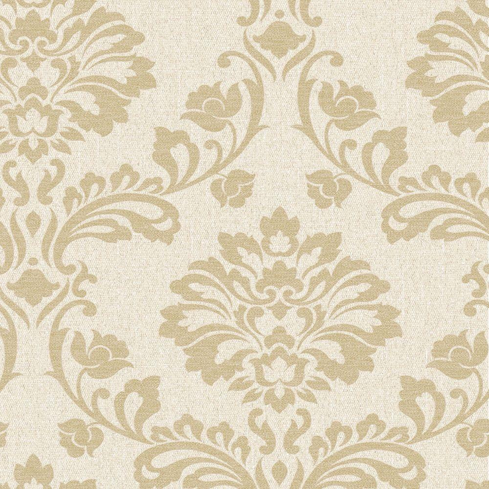 Graham brown gold aurora wallpaper 20 707 the home depot for Gold wallpaper for home