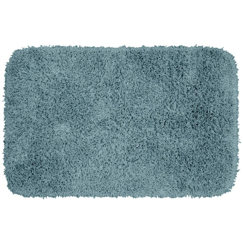 Garland Rug Jazz Basin Blue 24 In X 40 In Washable