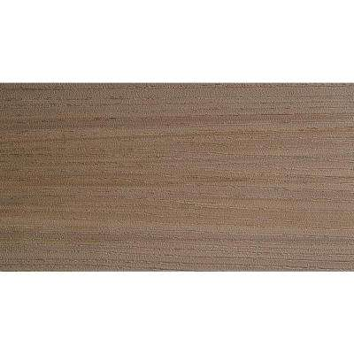 Arbor Collection 1 in. x 5-1/2 in. x 12 ft. Silver Oak Capped Polymer Decking Board