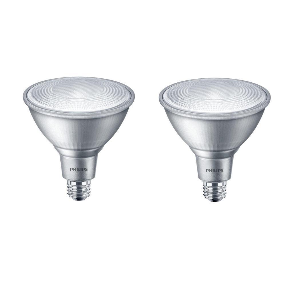 90-Watt Equivalent PAR38 LED Flood Bright White (2-Pack)
