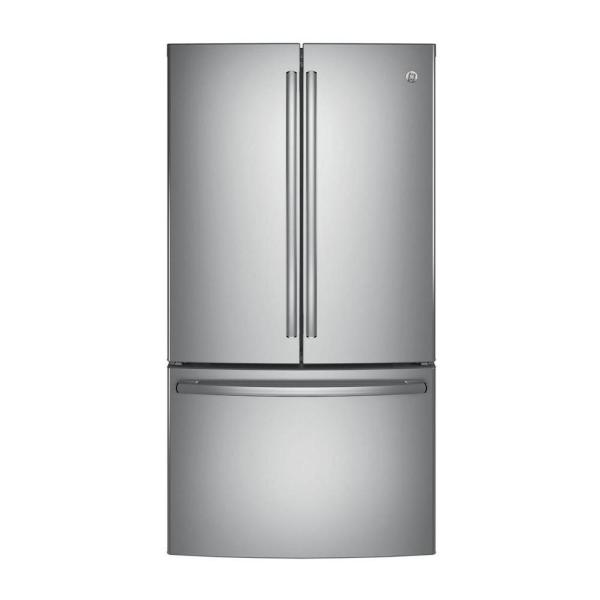 28.7 cu. ft. French Door Refrigerator in Stainless Steel, ENERGY STAR